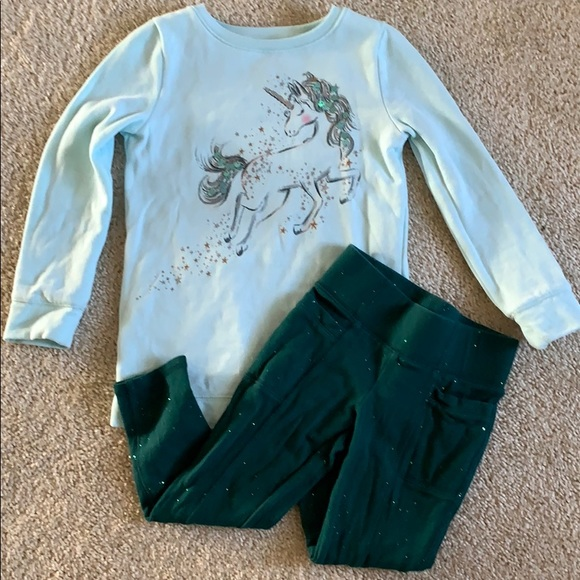 B2GOFREE 🍭Sonoma Sweatshirt legging outfit Sz 5